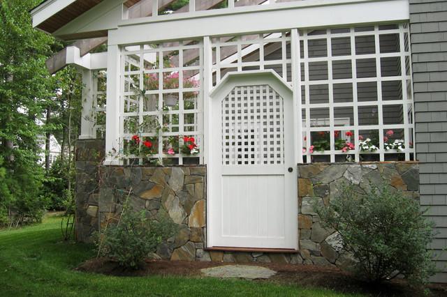 bay club traditional-exterior