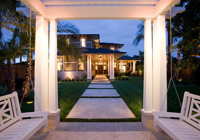 Bayside Traditional traditional-landscape