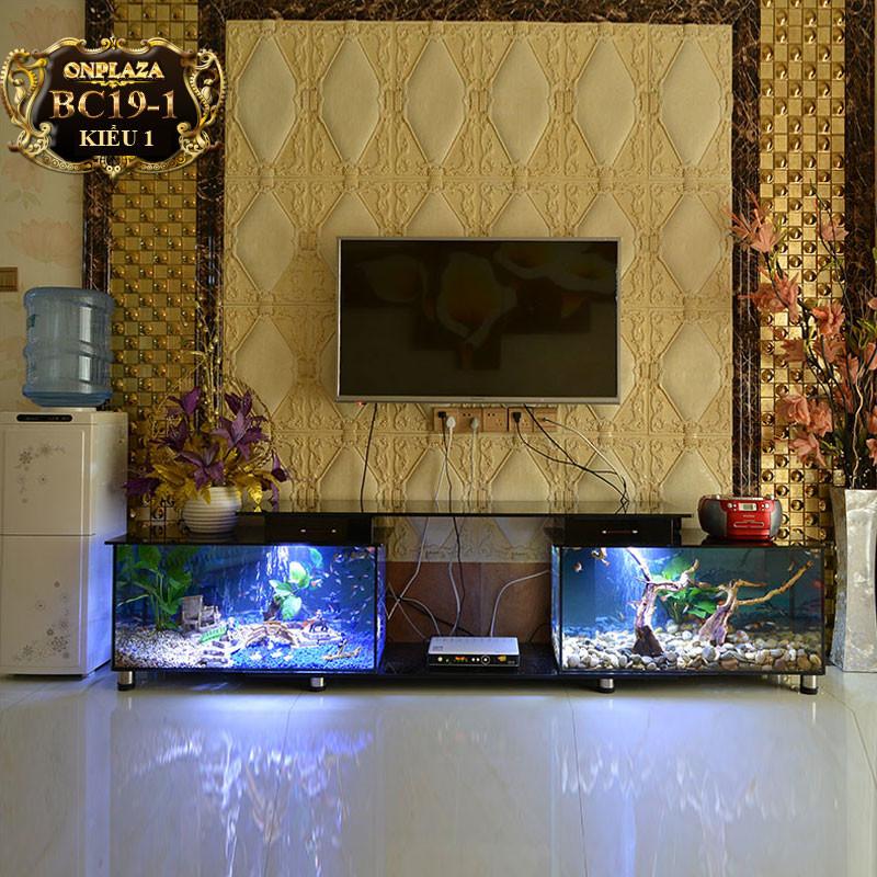 Bể Cá Kết Hợp Kệ Tivi