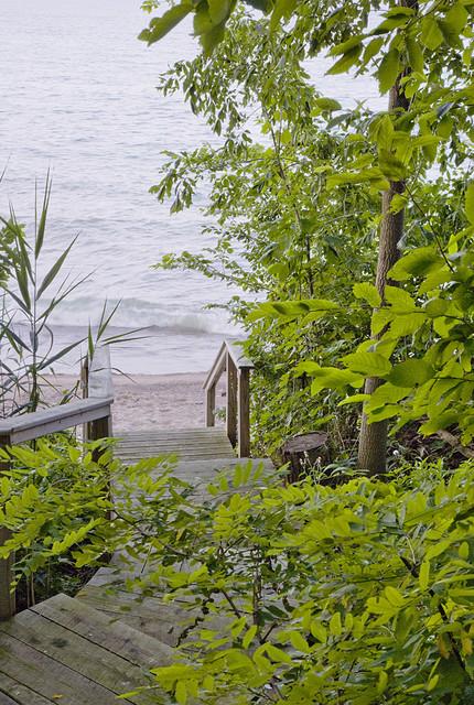 Beach Access beach-style-landscape