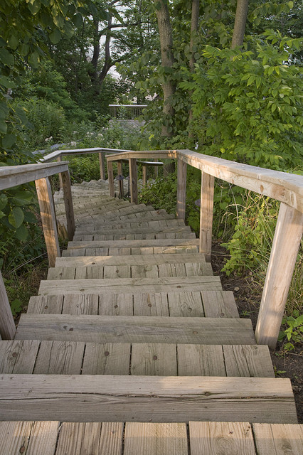Beach Access Beach Style Landscape Chicago By The