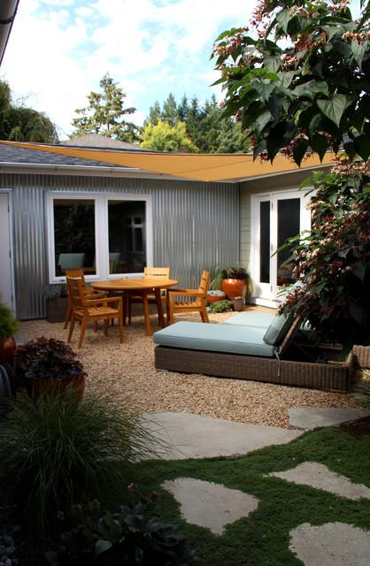 Beach house bainbridge island beach style garden - Interior design bainbridge island ...