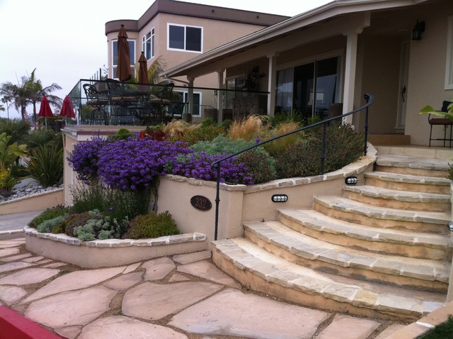 Beach house contemporary landscape orange county for Beach landscape design