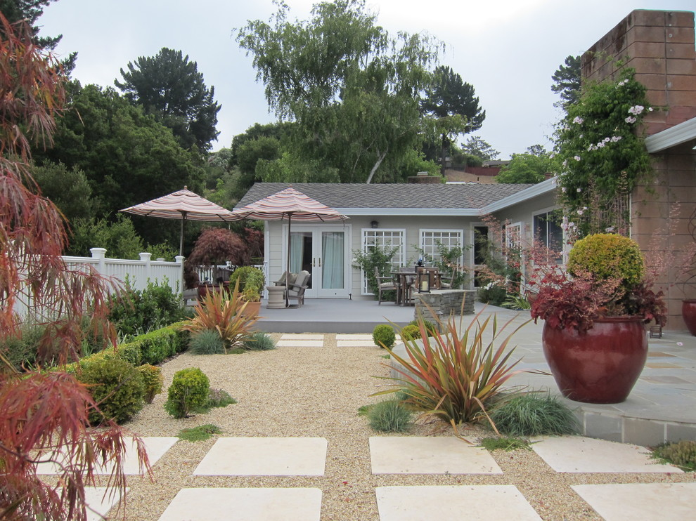 Mixing Traditional and Contemporary Garden Design