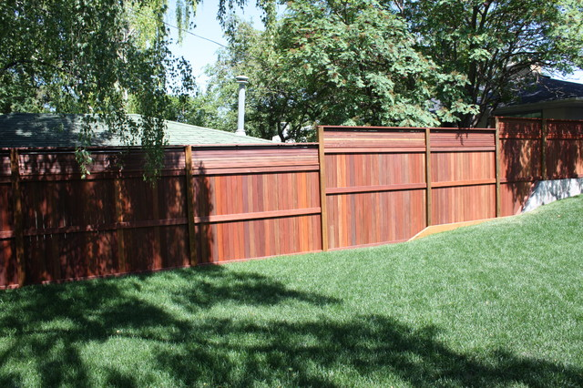 beautiful fences tropical landscape calgary by