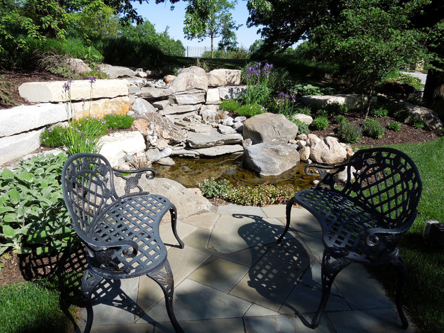 Beautiful landscape with waterscape for Waterscape garden designs
