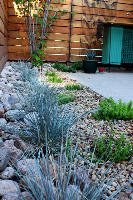 beck residence modern landscape denver by ivy
