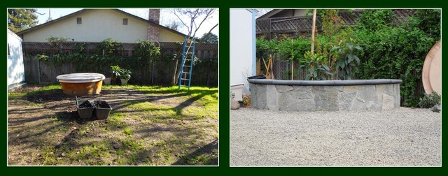 Before & After - Landscape contemporary-landscape