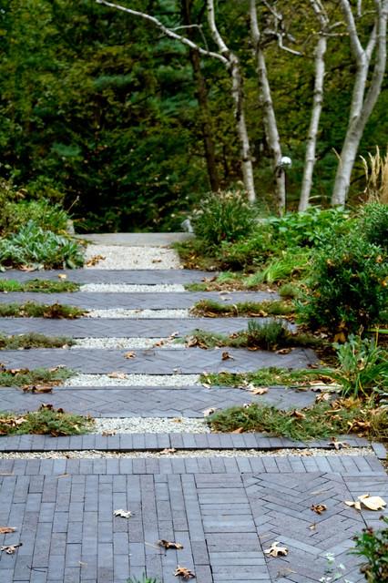 Belmont hill residence contemporary landscape boston for Garden design llc