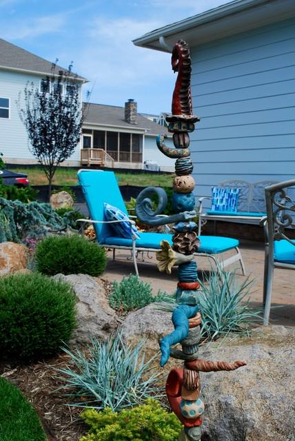 Belmont Patio Home Garden eclectic-landscape