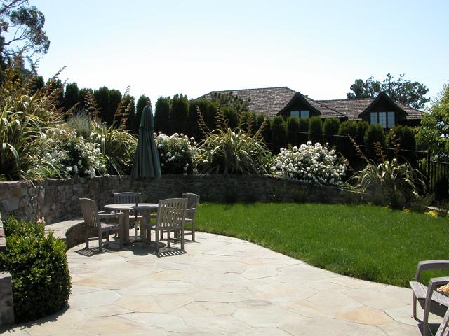 Belvedere Garden contemporary-patio