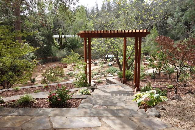 Ben Lomond Garden American Traditional Garden San Francisco By Jan Nelson Landscape Design