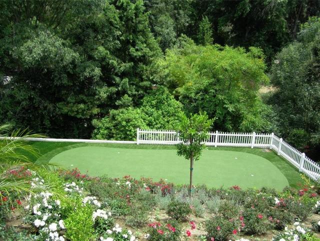 Beverly Hills Ca Putting Greens Landscape Los Angeles