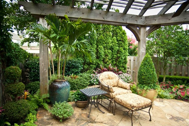 Big ideas in small spaces - traditional - landscape - nashville ...