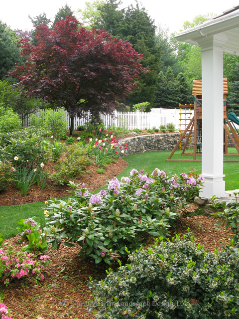 Bird butterfly and children gardens traditional for Garden design llc
