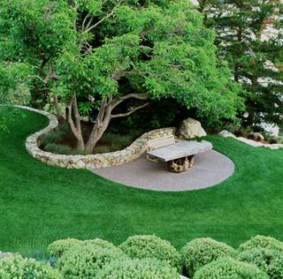 Blasen Gardens modern landscape