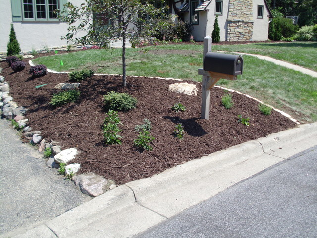 Bloomington Residence traditional-landscape
