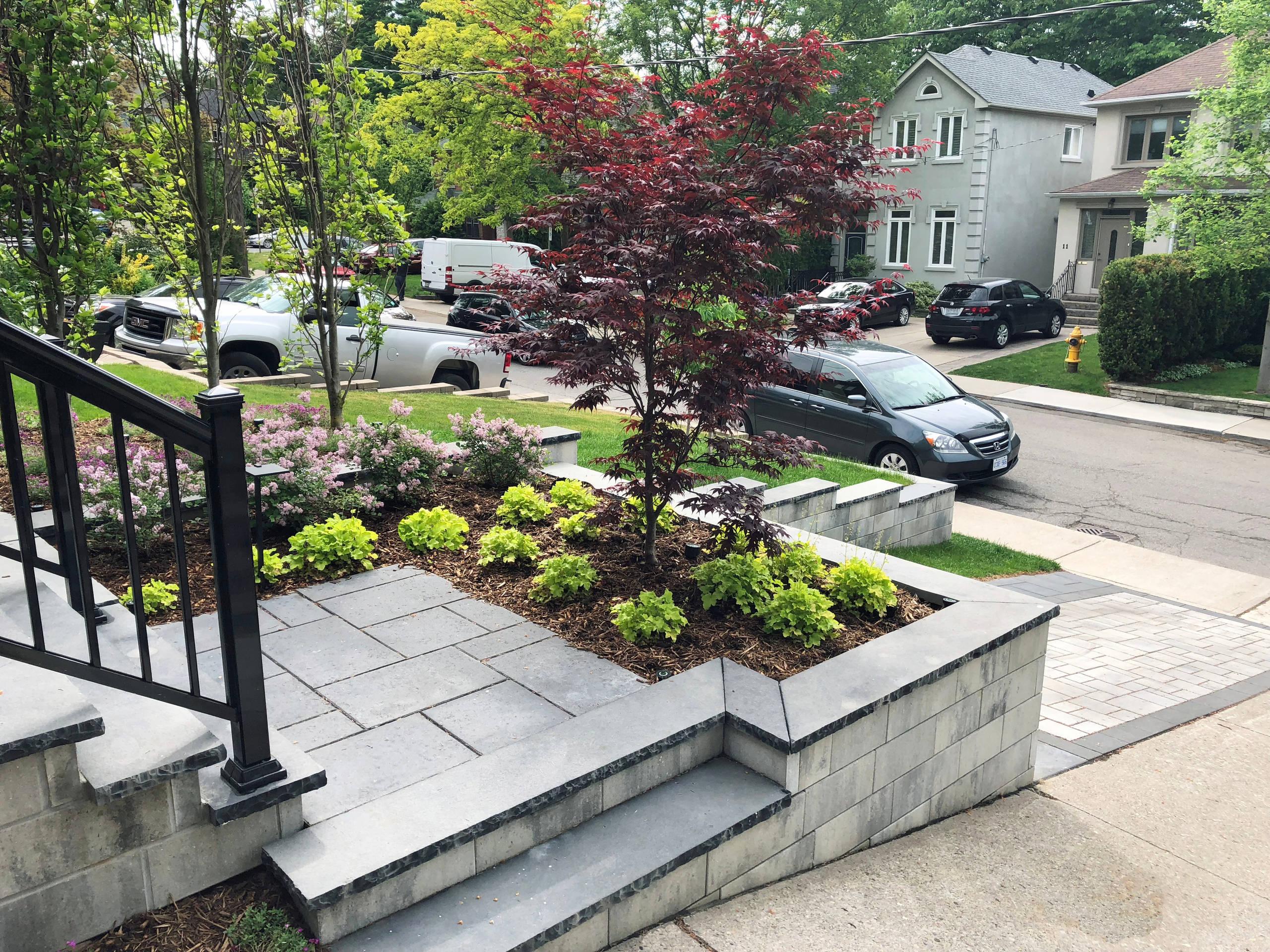 Bloor West Village Front Yard Parking Pad