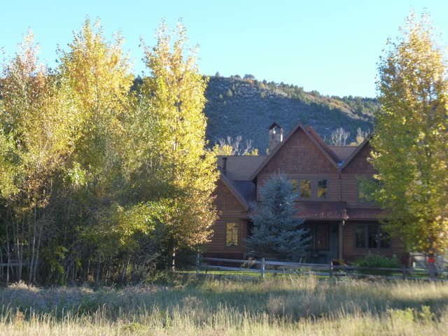 Blue Creek Ranch, Carbondale, Colorado rustic-landscape