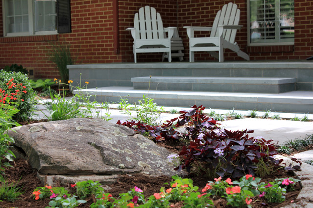Landscape Boulders Dallas Tx : Tx traditional landscape other by one specialty
