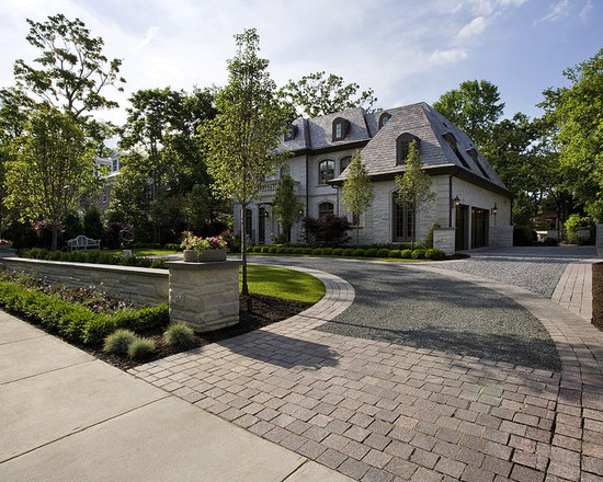 Shaped Driveway Landscaping : U shaped driveway home design ideas pictures remodel and