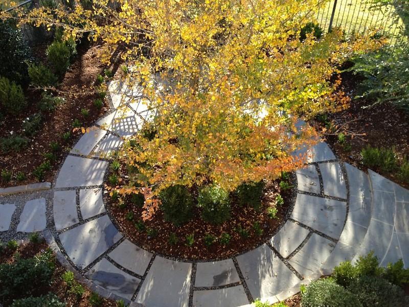 Bluestone circular path