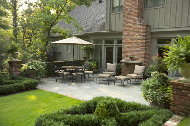 Bluestone Patio Landscape