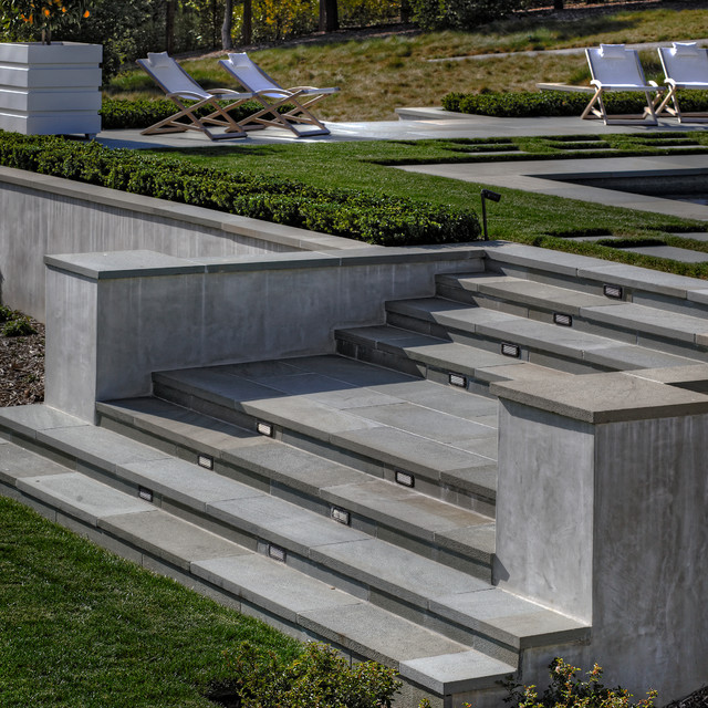 Bluestone Stairs Modern Landscape San Francisco By