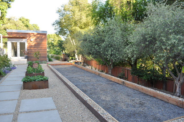 Backyard Bocce Ball Court Design : Landscape Architects & Landscape Designers
