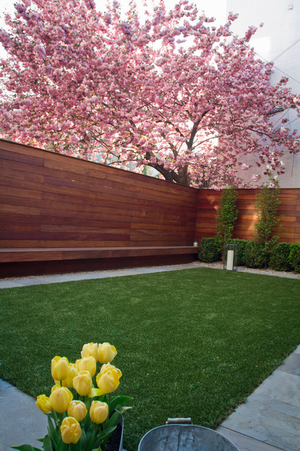 Brooklyn Heights Modern Garden - Modern - Landscape - other metro - by Little Miracles Designs