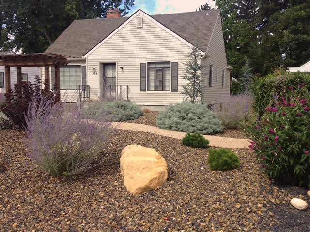 Boise Bench  Ultra Low Maintenance - Contemporary - Landscape - boise - by Stack Rock Group ...