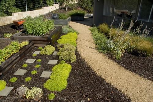 Garden Design Ideas Using Bark Mulch Turf Online