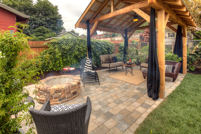 Boudreaux project traditional garden portland by for Paradise restored landscaping exterior design