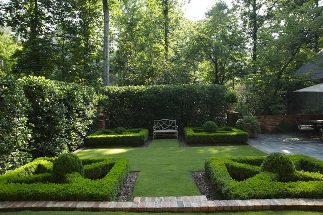 Boxwood Parterres Landscape