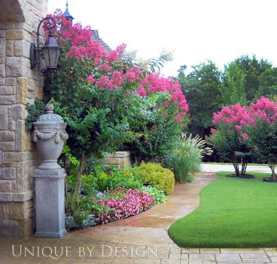 Bridwell estatel edmond landscape oklahoma city by for Small pretty trees for front yard