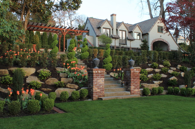 Brighton Beach Estate - Traditional - Landscape - Seattle - By AHBL