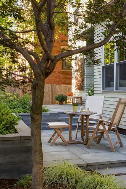 Brookline Modern Front Yard