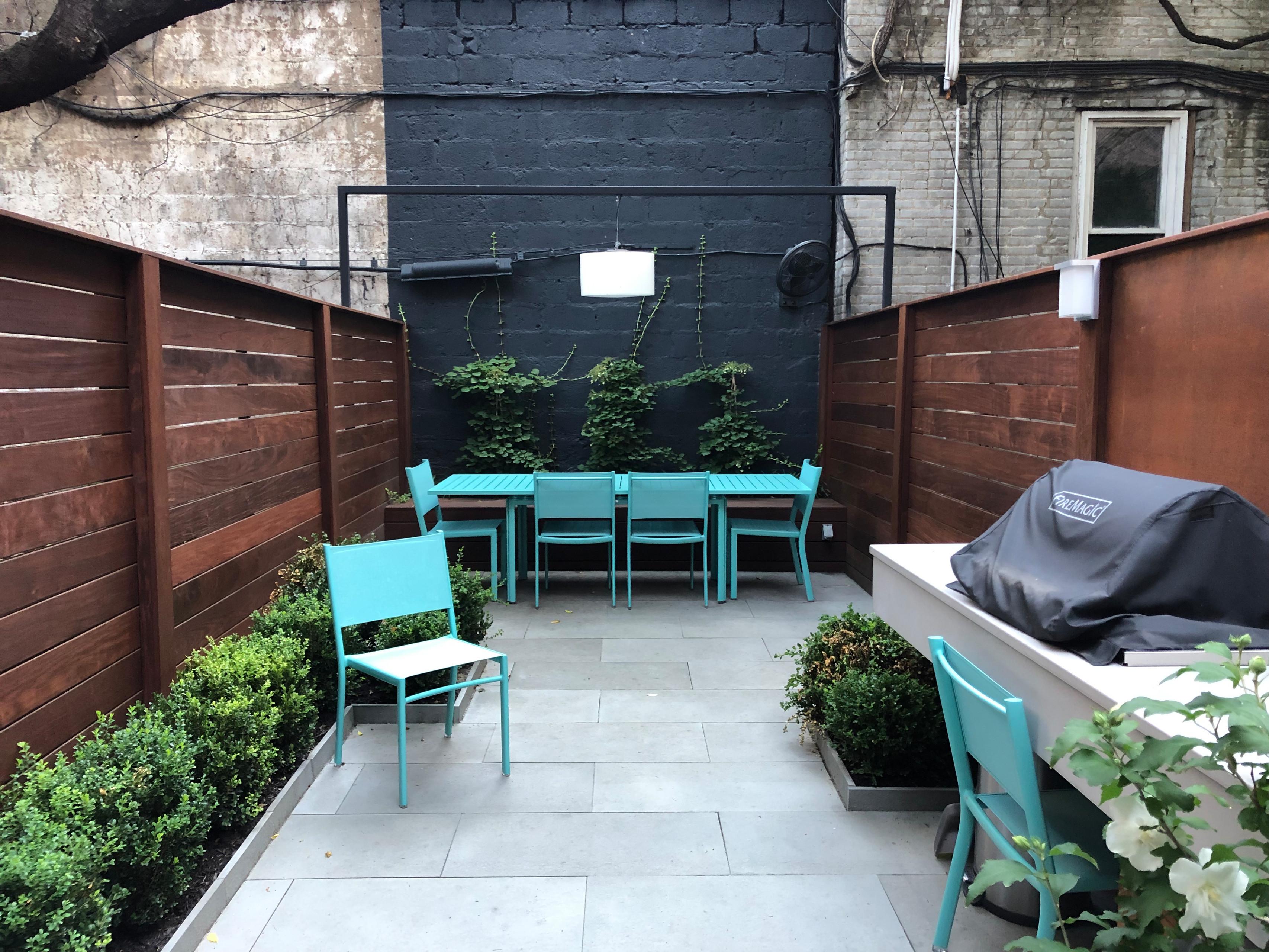 Brooklyn Heights Backyard 1
