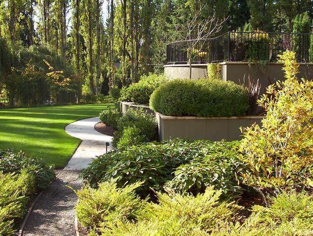 Brooks Kolb LLC Seattle area gardens eclectic-landscape