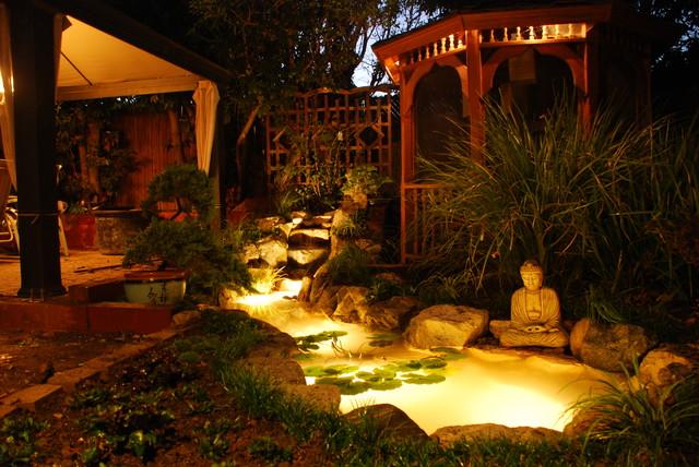 Bon Buddha Pond Asian Garden