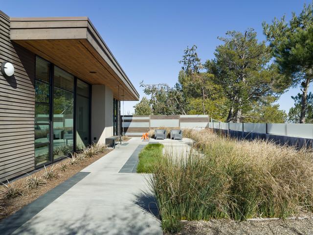 Burlingame Eichler Remodel  Modern  Landscape  san francisco  by