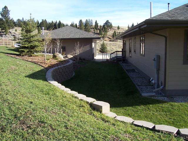 Butte, Montana Landscape Remodel traditional-landscape