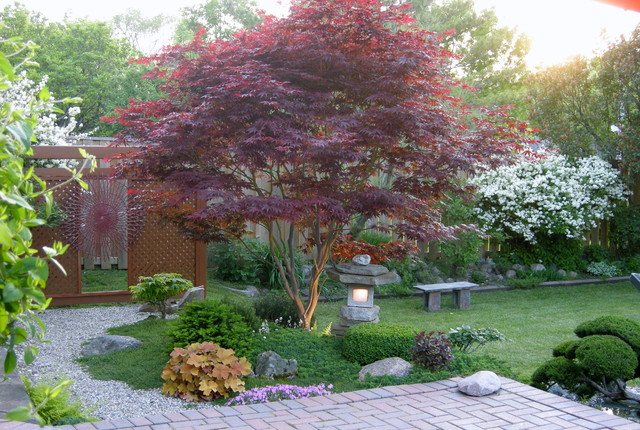 bestbehaved trees to grace a patio, Natural flower