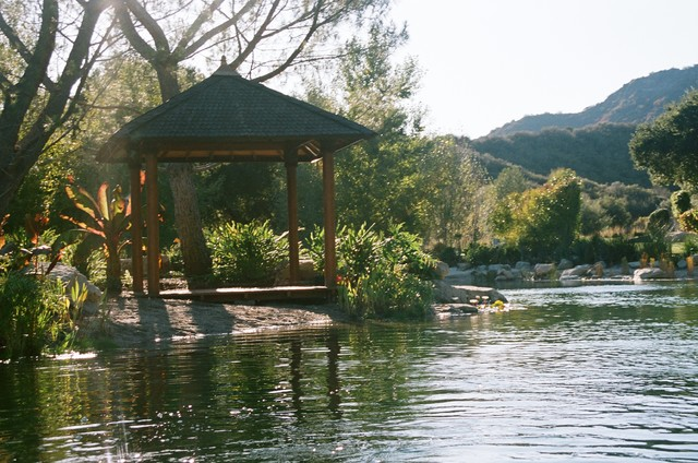 Mystic Water Gardens · Landscape Contractors U0026 Gardeners. Calabasas Lake  With Gazebo Traditional Landscape