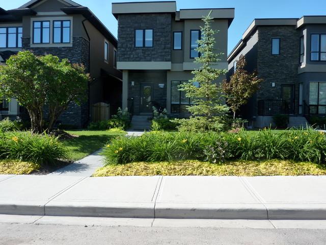 Calgary downtown contemporary contemporary landscape for Landscape design calgary