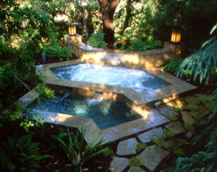 California Pools traditional-landscape