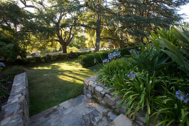 California Spanish Mediterranean Landscape los