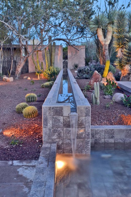 Silverleaf Colorful Xeriscape Southwestern Landscape Phoenix together with Whisper Rock Residence Southwestern Landscape Phoenix moreover Landscaping Photos likewise Az Desert Landscape Ideas likewise 30 Photos Of Front Yard Desert Landscaping With Curb Appeal. on desertscape for outdoor lighting design ideas