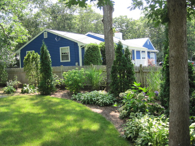Cape cod house traditional landscape boston by for Cape cod home landscape design