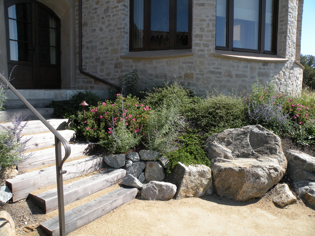 Carmel Valley 03 (Design by Ron Herman) rustic-landscape